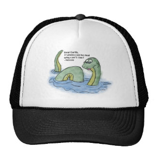 """Dear Earth"" - Nessie Trucker Hat"