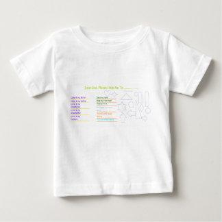 'Dear God' Baby Activity T-Shirt