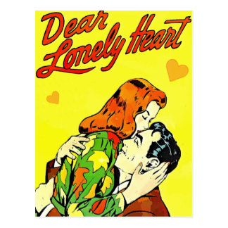 Dear Lonely Heart Postcard