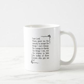 dear lord classic white coffee mug