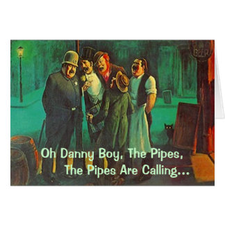 Dear Neighbourhood Friends Singing St Patricks Day Card