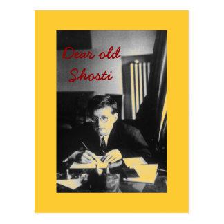 """Dear old Shosti"" Postcard"