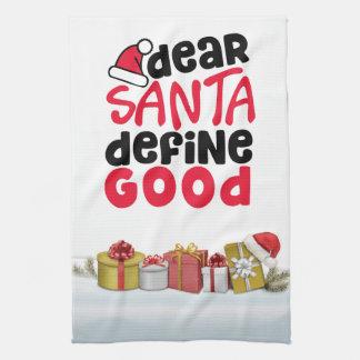 Dear Santa, define good kitchen Kitchen Towel