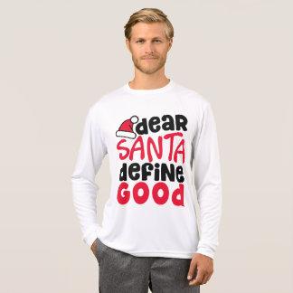 Dear Santa Funny Christmas | Sleeve Shirt