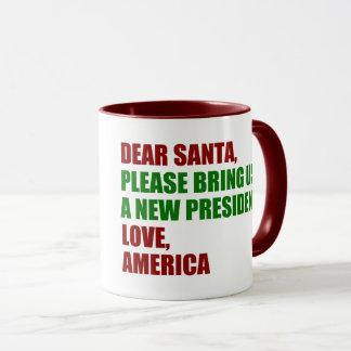 Dear Santa Impeach Trump for Christmas Mug