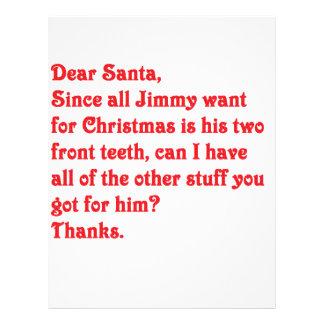 Dear Santa Personalized Letterhead