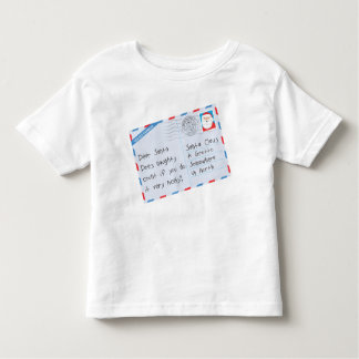 Dear Santa Naughty Done Nicely Toddler T-shirt