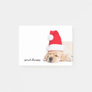 Dear Santa Puppy Christmas Dreams Post-it Notes