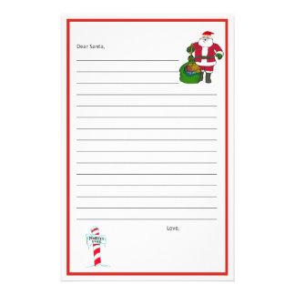 Dear Santa Stationary! Template Stationery