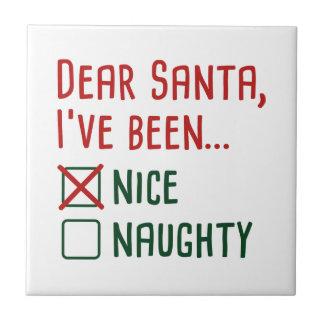 Dear Santa Tile