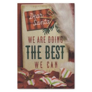 Dear Santa Tissue Paper