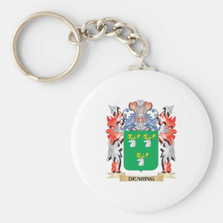Dearing Coat of Arms - Family Crest Keychain