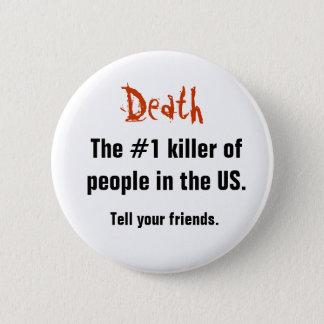 Death, 2 Inch Round Button