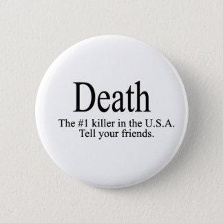 Death 2 Inch Round Button