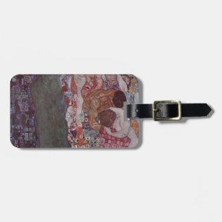 Death and Life by Gustav Klimt Bag Tag