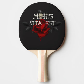 Death and Life Ping Pong Paddle