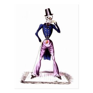 Death as a Gentlemen postcard