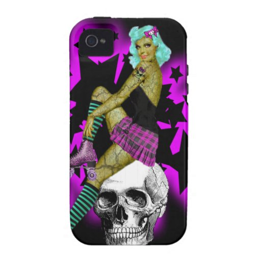 Death by Derby Case-Mate iPhone 4 Covers