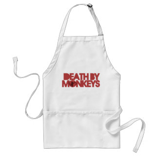 Death by Monkeys Standard Apron