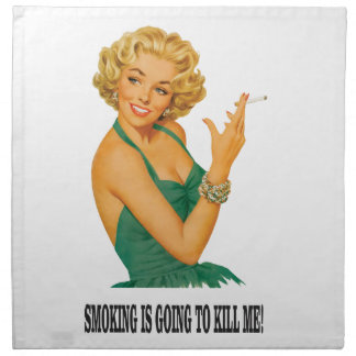 death by smoke yeah napkin