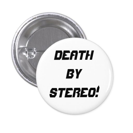Death By Stereo! Badge