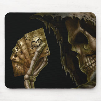 death cards mouse pad