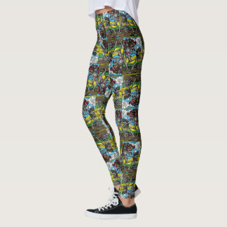 death comes for us all tiled leggings