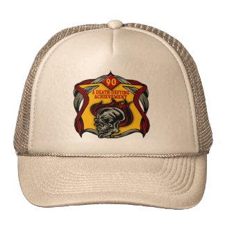 Death Defying 90th Birthday Gifts Trucker Hat