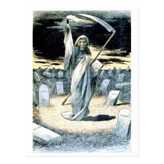Death Illuminating Tonkin postcard