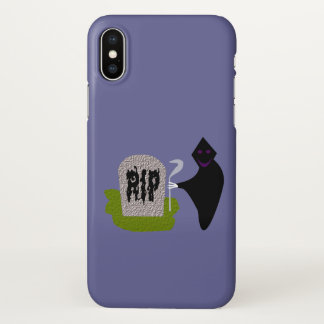 Death in the Cemetery Halloween iPhone case