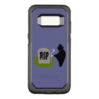 Death in the Cemetery Halloween Phone Case
