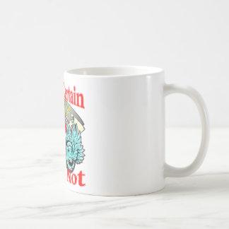 Death Is Certain Life Is Not Biker Skull Coffee Mug