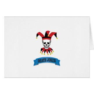 death joker art card