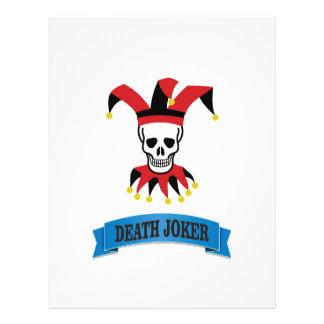 death joker art letterhead