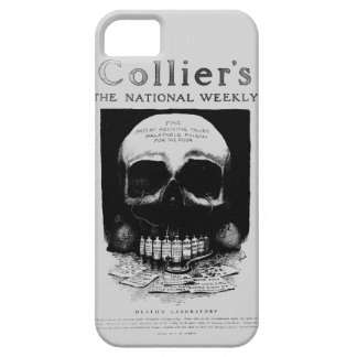 Death Lab Skull Vintage Ad iPhone Case