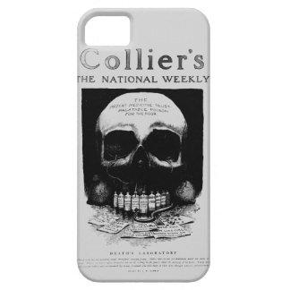 Death Lab Skull Vintage Ad iPhone Case iPhone 5 Case