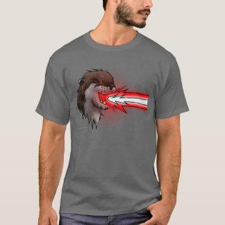 Death Laser Otter- Red (T-Shirt) T-Shirt