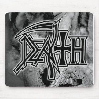 DEATH logo Perseverence artwork '98 Mouse Pad