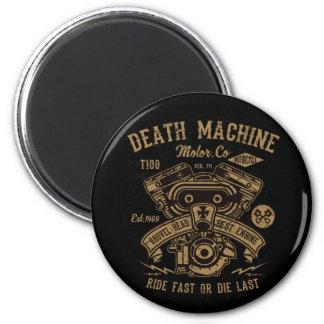 Death Machine Harley Motor Ride Fast or Die Last Magnet
