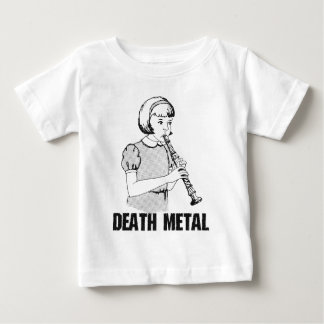 Death Metal Funny Music Genre Heavy Metal Humor Baby T-Shirt