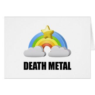 Death Metal Rainbow Card