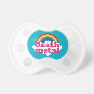 Death Metal rainbow design Pacifier