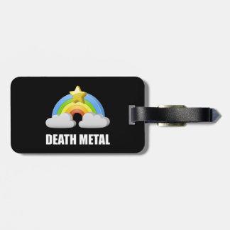 Death Metal Rainbow Luggage Tag