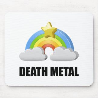 Death Metal Rainbow Mouse Pad