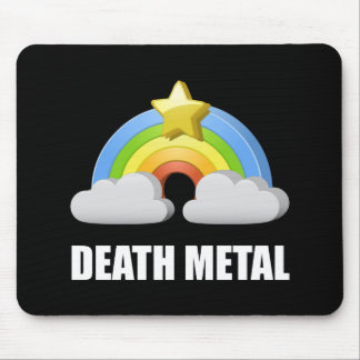 Death Metal Rainbow Mouse Pad