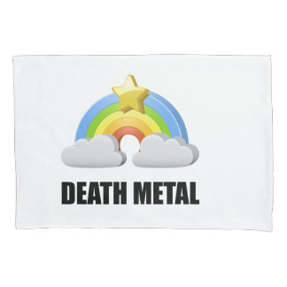 Death Metal Rainbow Pillowcase