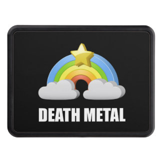 Death Metal Rainbow Trailer Hitch Cover