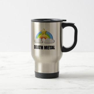 Death Metal Rainbow Travel Mug