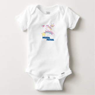 Death Metal unicorn Baby Onesie