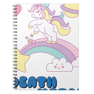 Death Metal unicorn Notebook